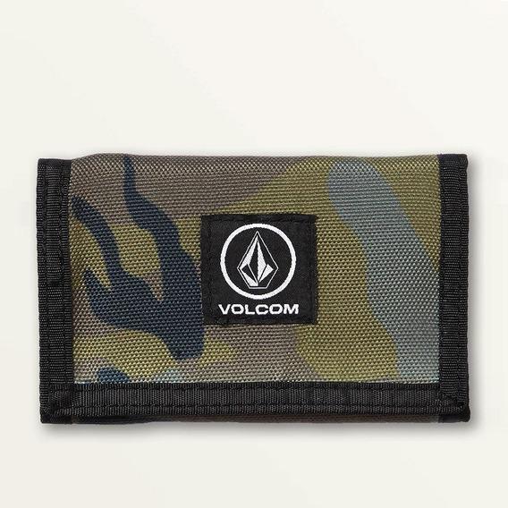 Cartera Volcom, Mod. Box Stone Wallet, Color Cam.