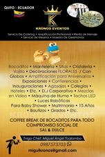 Alquiler De Sillas, Mesas, Catering, Meseros