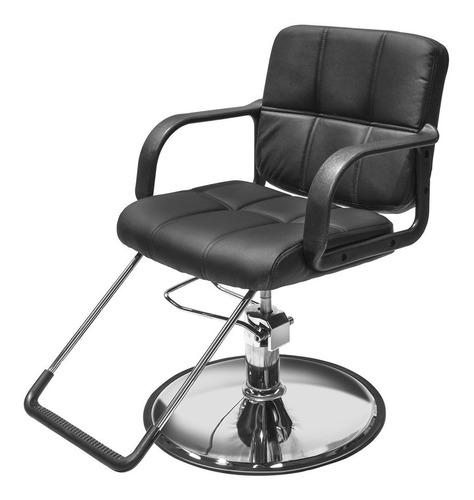 Imagen 1 de 9 de Sillon Barbero  Peluqueria Silla Barberia Estetica Rudo