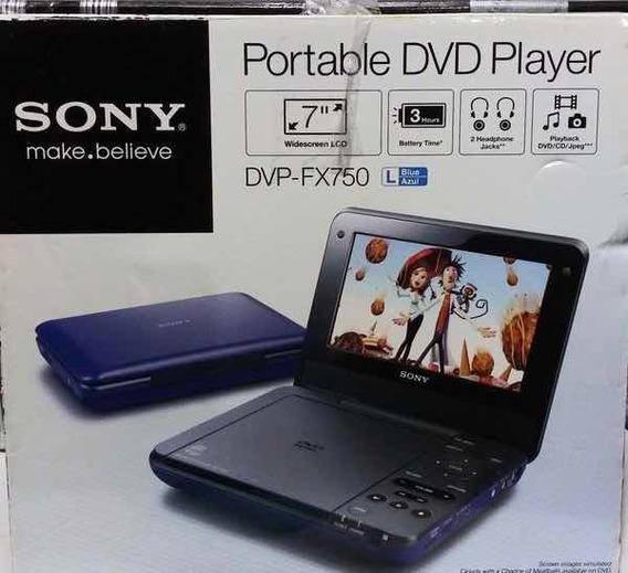 Dvd Portátil Original Sony Modelo Dvp-fx750