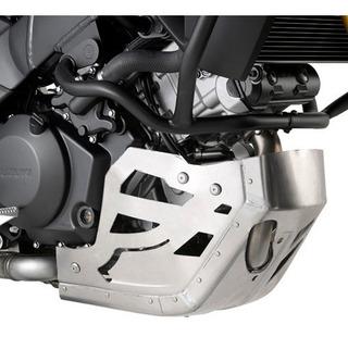 Cubre Carter Aluminio Givi Suzuki Vstrom 1000 2014/17 Mdelta