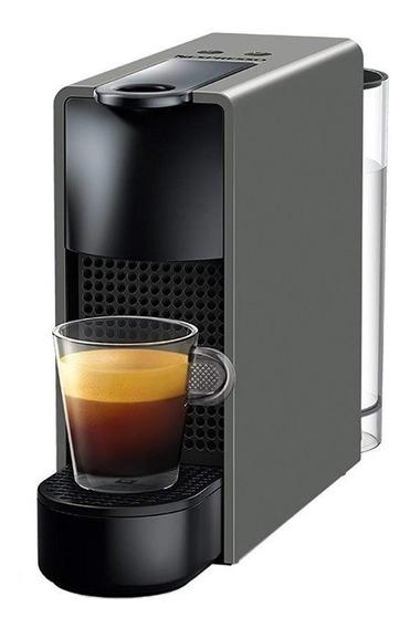 Cafetera Nespresso Essenza Mini Gris Eco Friendly