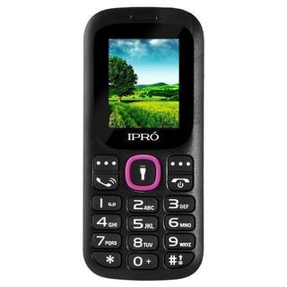 Celular Ipro I3100 Dual Sim Com Tela De 1.8 Vga - Preto/rosa