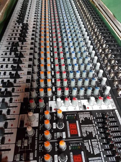 Mixer 32 Canais Behringer Eurodesk Sx3242fx