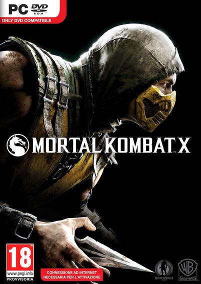 Mortal Kombat X (mídia Física) Pc Dvd
