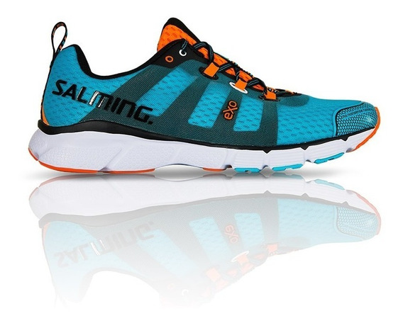 Zapatillas Salming Running Enroute Blue Lime Hombre