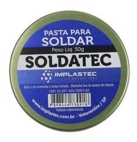 Pasta De Solda - Soldatec 50gr