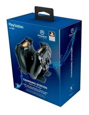 Cargador Control Ps4 Power A Dual Cargador Control P Tk756