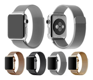 Brazalete Metalico Milanese Magnetico Apple Watch 42 Y 44 Mm