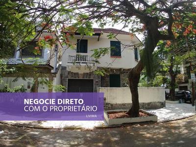 Casa 4 Quartos Para Alugar Na Urca - Rj - Ca0042