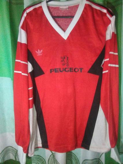 Camiseta De River Peugeot Roja #3 Carlos Enrique De Juego.