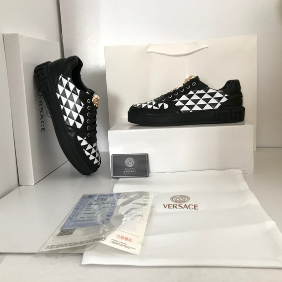 Tenis Versace Ajedrez