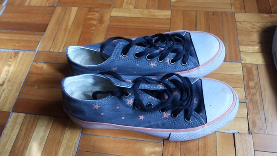 Zapatillas Wanama Gris On Estrellas Color Salmon
