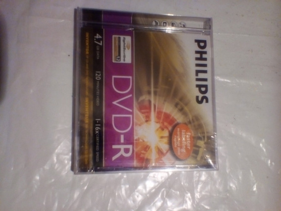 Dvd-r Philips 4.7g.b 16x