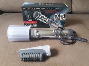 Escova Rotativa Air Brush Titanium
