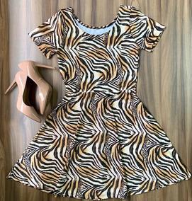 Look Fashion Vestido Midi Da Moda Atual Feminina Roupas Pop