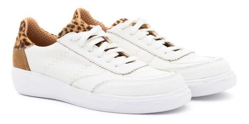 Zapatillas De Cuero Urbanas Sneakers Moda Mujer Verano !