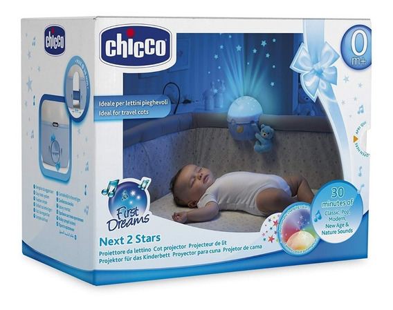Proyector Musical Para Bebe Next 2 Stars Chicco