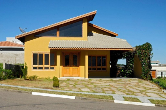 Casa Para Venda No Condomínio Terras De Atibaia I Em Atibaia - Ca32