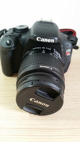 Câmera Canon Eos Rebel T3i Com Lente Efs Canon 18-55 Mm