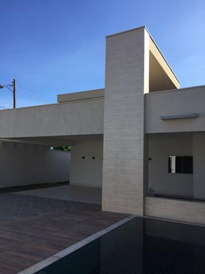 Casa Térra Pé Direito Duplo 3 Suites Piscina Churrasqueira