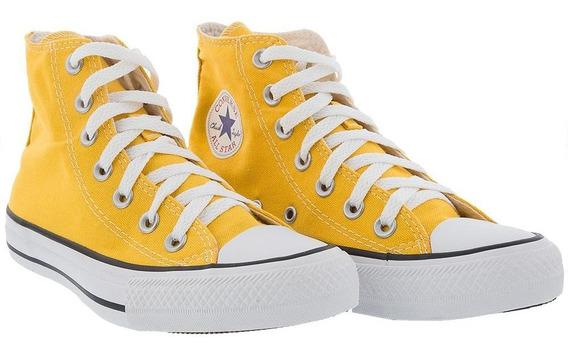 Tênis Converse All Star Chuck Taylor Hi Amarelo - 33