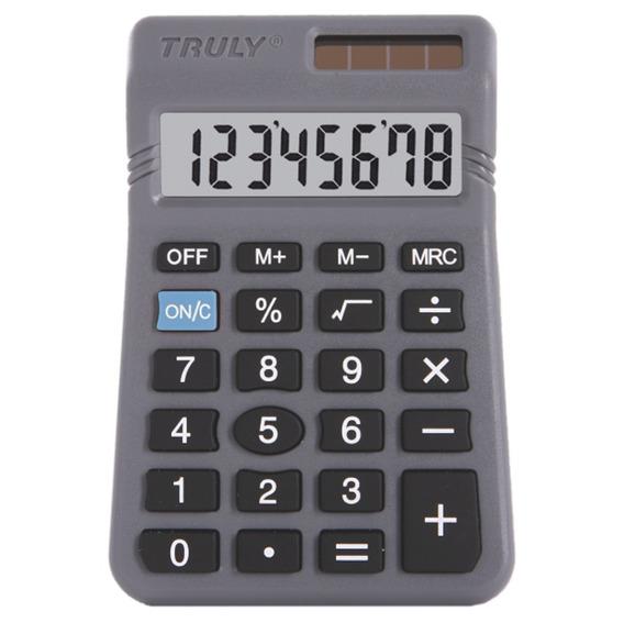 Calculadora Pessoal Truly Mod. 329 8 Dígitos Solar Com Nfe