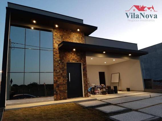 Casa Com 3 Suítes À Venda, 178 M² Por R$ 750.000 - Jardim Piemonte - Indaiatuba/sp - Ca1512