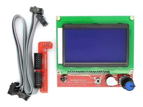 Lcd Arduino Full Graphic Impresora 3d Display Mega Ramps Sd