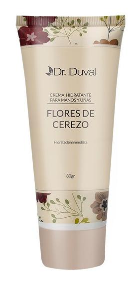 Crema Hidratante Manos Y Uñas Flores Cerezo X80ml Dr.duval