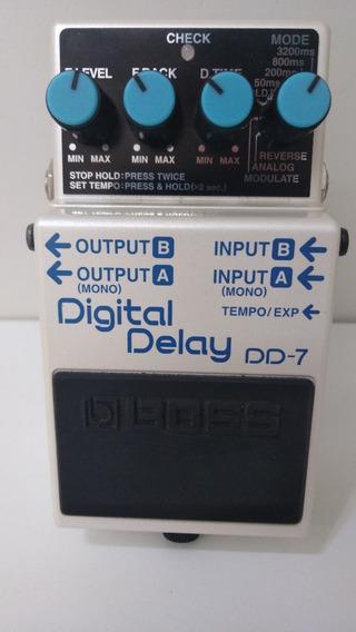 Pedal Boss Dd-7 Digital Delay (zerado)