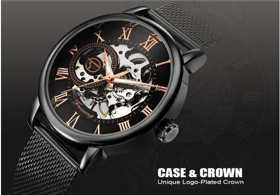 Relógio Masculino Automático Social Luxo Forsining