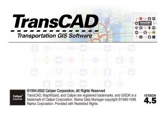 Transcad Transporte (windows Xp) - Aprenda