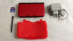 Nintendo 3ds Xl Desbloqueado + Carregador Bivolt + Cartão 8g