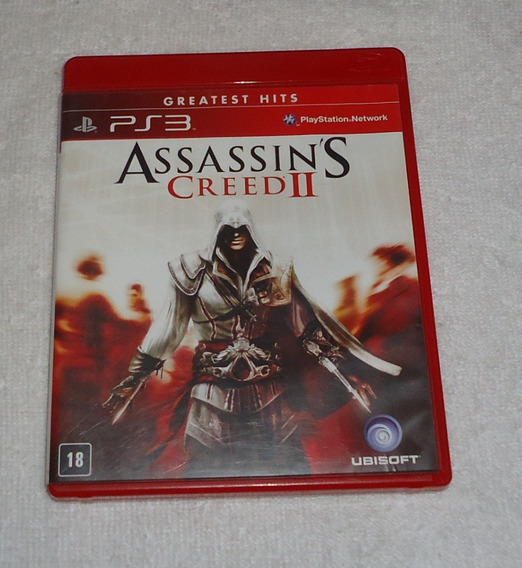 Assassins Creed 2 Gh Ps3 ** Frete Gratis Leia