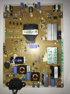 Placa Fuente Tv Led LG 43uj6560-sb