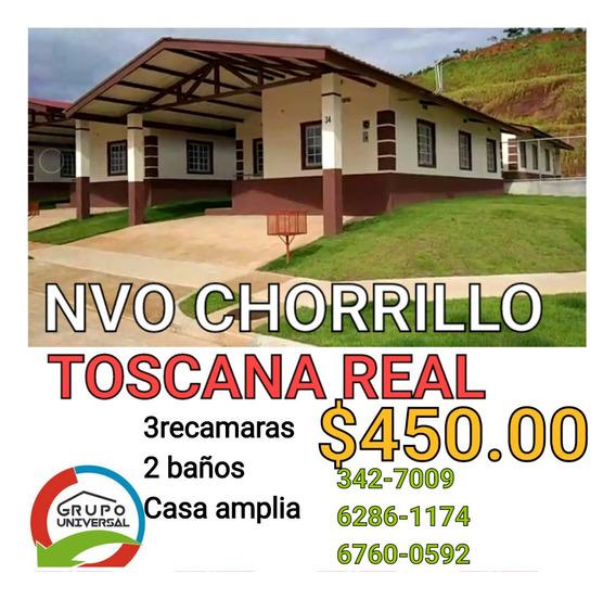Alquilo Casa En Toscana Real Entrada De Nuevo Chorrillo