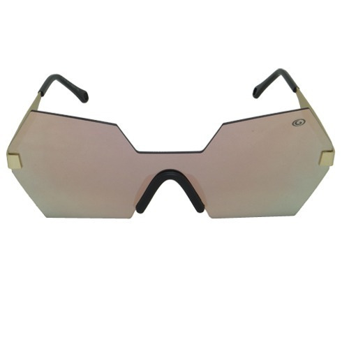 Óculos De Sol Hexagonal Rosa Geror 02494 Desconto 30%