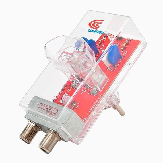 Dps Protetor Contra Raios Clamper Energia + Cabo - Tv