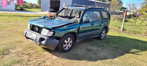 Oportunidad Subaru Forester 4x4 Chocada En Marcha