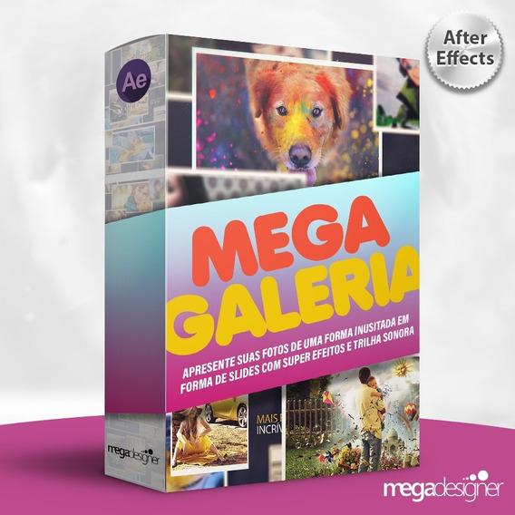 Mega Galeria De Fotos Apresentação De Slides - After Effects