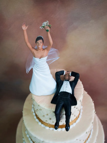 Cake Toppers O Figuras Para Pastel De Boda (novio Resignado)