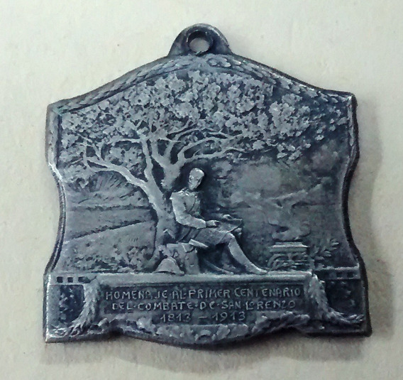 Medalla San Martin - San Lorenzo - Pino - 1813/1913