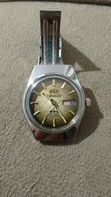 Relógio Automático Orient 21 Jewels Automatic Marrom