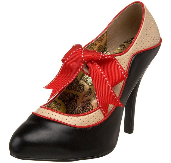Zapatillas Bordello Tempt-27 Pin-up Pumps Vestido Zara