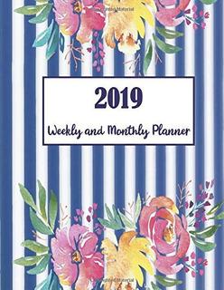 2019 Planificador Semanal Y Mensual 2019 Calendario De 2020