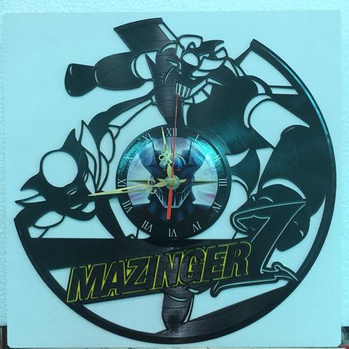 Mazinger Z Reloj En Disco De Acetato