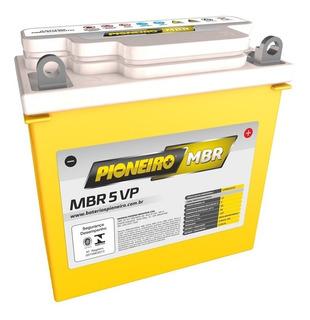 Bateria Moto Pioneiro Mbr5vp Yamaha Crypton 105 98/05 5ah