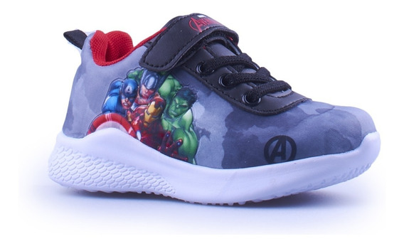 Zapatillas Avengers Marvel Vengadores 24 Al 30 Fty Calzados