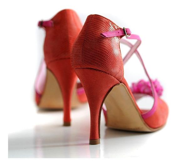 Sello Buen Diseño Zapato Renata Tango Baile Gretaflora